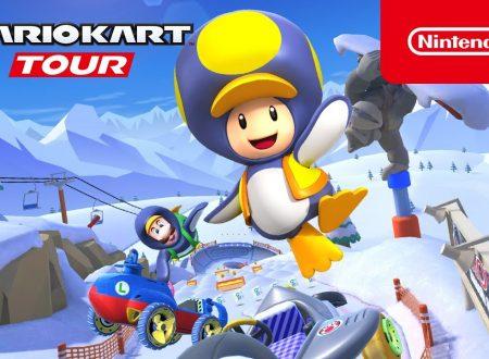 Mario Kart Tour: pubblicato il trailer del Tour Nevoso, disponibile ora nel titolo mobile