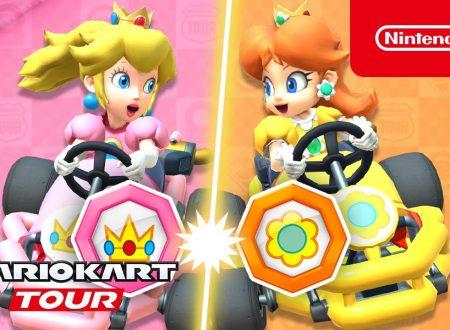 Mario Kart Tour: pubblicato il trailer del Tour Peach vs. Daisy, disponibile ora nel titolo mobile