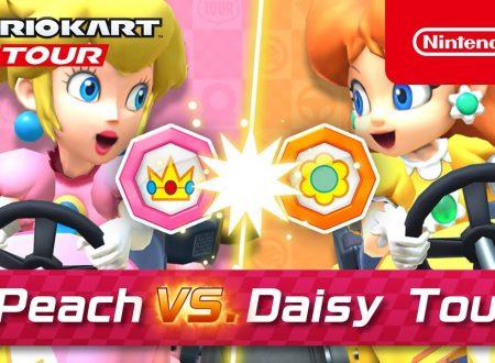 Mario Kart Tour: svelato l'arrivo imminente del Tour Peach vs. Daisy nel titolo mobile