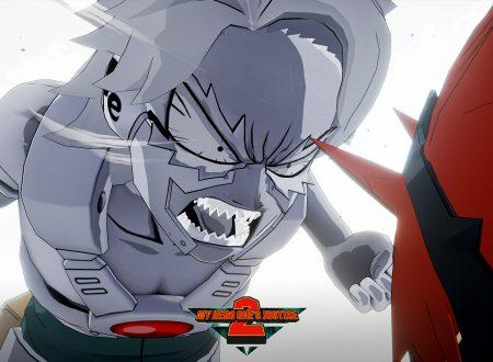My Hero One's Justice 2: pubblicato il trailer di lancio del DLC di Tetsutetsu Tetsutetsu