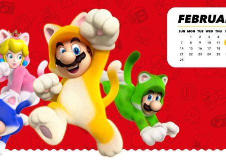 My Nintendo: ora disponibile il calendario di febbraio dedicato a Super Mario 3D World + Bowser's Fury