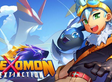 Nexomon Extinction: il titolo aggiornato alla versione 1.1.2 sui Nintendo Switch europei
