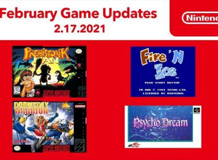 Nintendo Switch Online: annunciato l'arrivo dei nuovi titoli SNES e NES di febbraio 2021