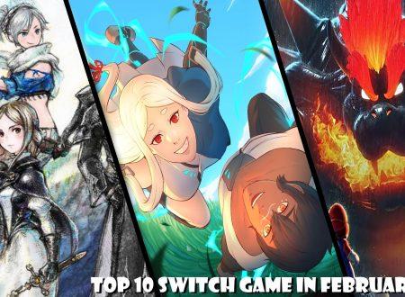 Nintendo Switch: la nostra TOP 10 dei titoli in uscita a febbraio 2021