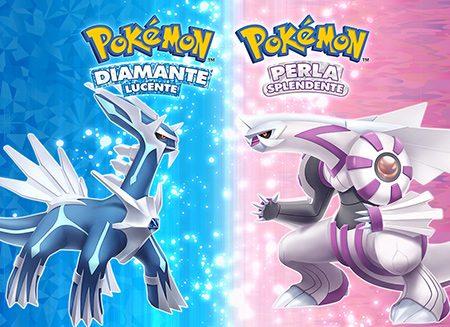 Pokémon Diamante Lucente e Perla Splendente: i due remake annunciati per l'uscita a fine 2021 su Nintendo Switch
