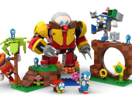 Sonic Mania Green Hill Zone LEGO: annunciato il pack dedicato all'istrice blu di SEGA