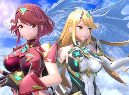 Super Smash Bros. Ultimate: pubblicati dei nuovi screenshots dedicati al DLC di Pyra e Mythra