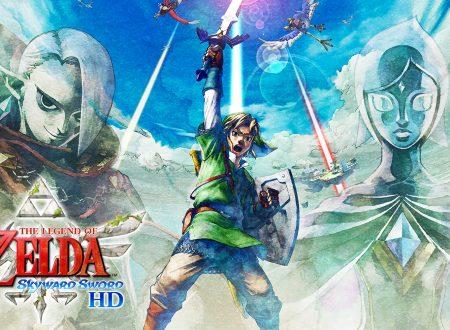 The Legend of Zelda: Skyward Sword HD, il titolo in arrivo il 16 luglio sui Nintendo Switch europei