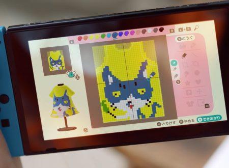 Animal Crossing: New Horizons, pubblicato un video commercial nipponico dedicato ai modelli personalizzati