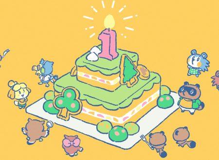 Animal Crossing: New Horizons, pubblicato uno speciale artwork dedicato al primo anniversario del titolo