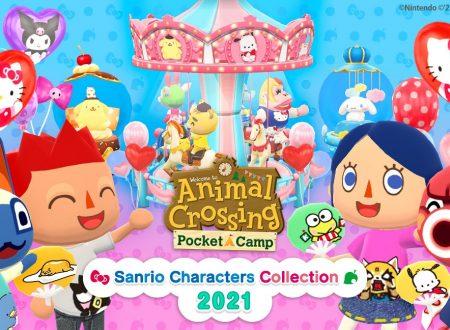 Animal Crossing: Pocket Camp, svelato l'arrivo imminente della Sanrio Characters Collection 2021