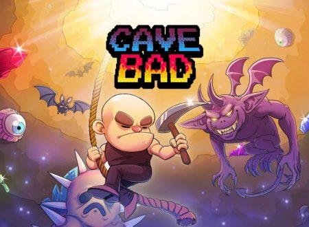 Cave Bad: uno sguardo in video al titolo dai Nintendo Switch europei