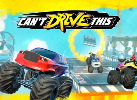 Can't Drive This: primo sguardo in video al titolo dai Nintendo Switch europei