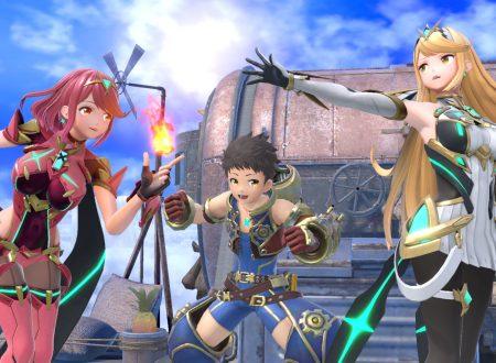 Super Smash Bros. Ultimate: il DLC di Pyra e Mythra è in arrivo domani sui Nintendo Switch europei