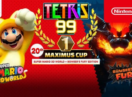 Tetris 99: svelato il ventesimo Grand Prix con in palio il tema di Super Mario 3D World + Bowser's Fury