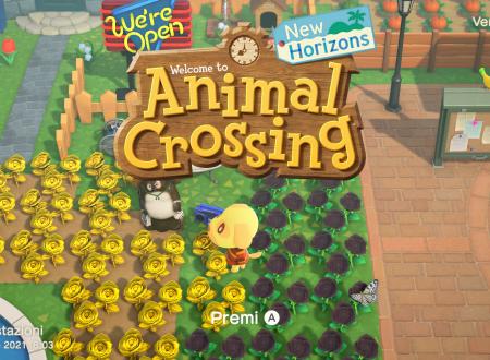 Animal Crossing: New Horizons, il titolo aggiornato alla versione 1.10.0 sui Nintendo Switch europei