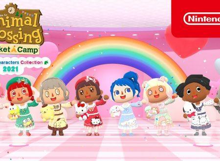 Animal Crossing: Pocket Camp, pubblicato un trailer dedicato alla Sanrio Characters Collection 2021