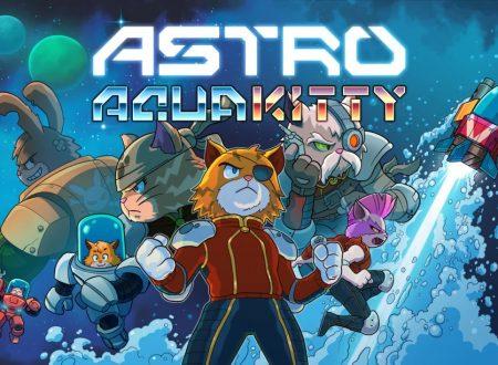 Astro Aqua Kitty: uno sguardo in video al titolo dai Nintendo Switch europei