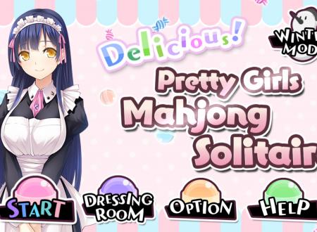 Delicious! Pretty Girls Mahjong Solitaire: uno sguardo in video al titolo dai Nintendo Switch europei