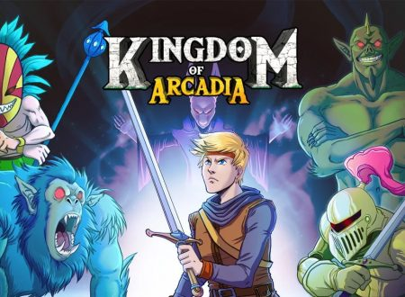 Kingdom of Arcadia: uno sguardo in video al titolo dai Nintendo Switch europei