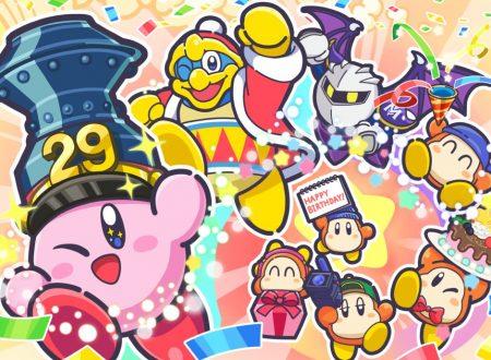 Pubblicato un artwork speciale dedicato al 29° anniversario di Kirby