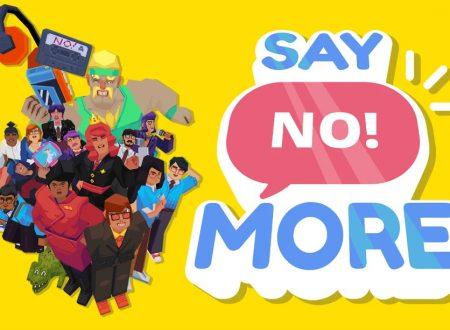 Say No! More: uno sguardo in video al titolo dai Nintendo Switch europei