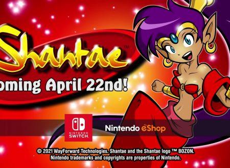 Shantae: il classico per Game Boy Color in arrivo il 22 aprile su Nintendo Switch