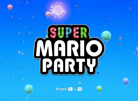 Super Mario Party: il titolo aggiornato alla versione 1.1.0 sui Nintendo Switch europei, aggiunto l'online a tutte le modalità