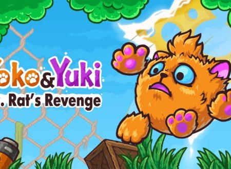 Yoko & Yuki: Dr. Rat's Revenge: uno sguardo in video al titolo dai Nintendo Switch europei