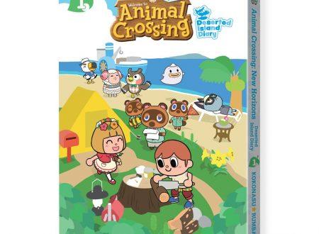 Animal Crossing: New Horizons, svelata la copertina del volume 1 del manga ufficiale, Deserted Island Diary