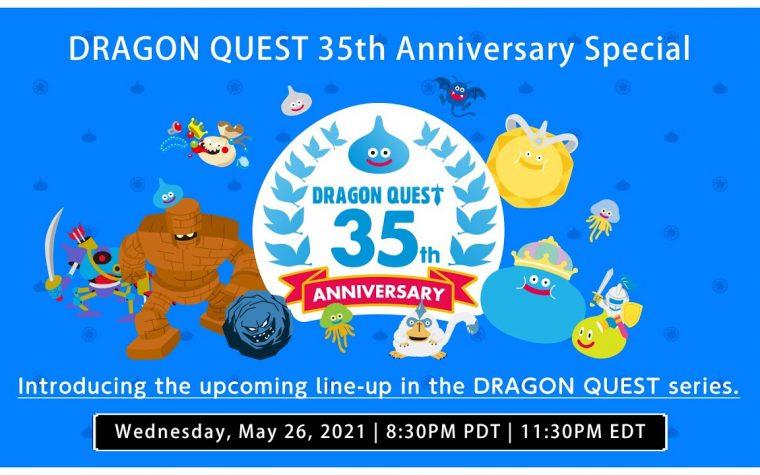 Dragon Quest 35th Anniversary: annunciato uno speciale livestream per l'anniversario della serie