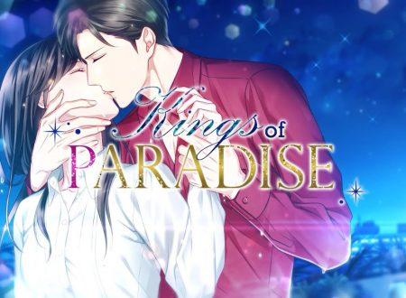 Kings of Paradise: la visual novel in arrivo il 27 maggio sui Nintendo Switch europei