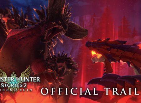 Monster Hunter Stories 2: Wings of Ruin, pubblicato un quarto trailer dedicato al titolo