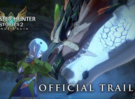 Monster Hunter Stories 2: Wings of Ruin, pubblicato un trailer dedicato all'introduzione della storia