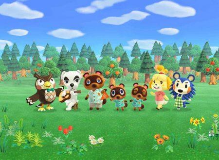 Animal Crossing: New Horizons, Nintendo rivela ulteriori novità in arrivo per il titolo