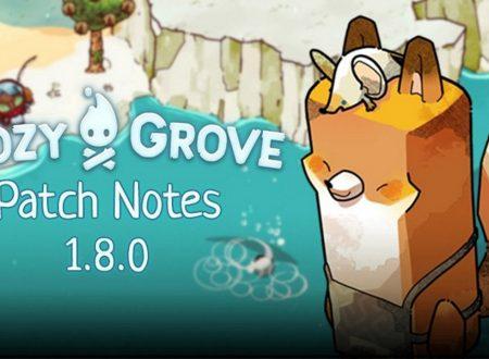 Cozy Grove: il titolo ora aggiornato alla versione 1.8.0 sui Nintendo Switch europei