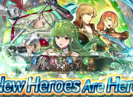 Fire Emblem Heroes: ora disponibili i nuovi eroi speciali: Libro V, Nótt e altri