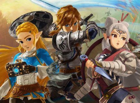 Hyrule Warriors: L'era della calamità, il titolo aggiornato alla versione 1.2.0 sui Nintendo Switch europei