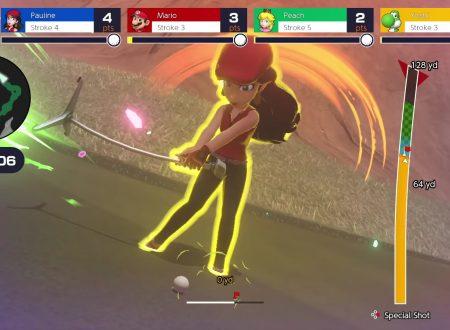 Mario Golf: Super Rush, pubblicato un nuovo trailer promozionale USA