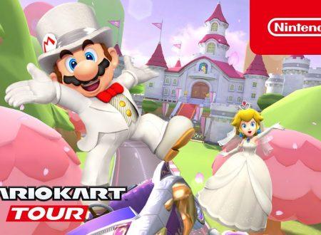 Mario Kart Tour: pubblicato il trailer dedicato al Tour Nuziale, ora disponibile