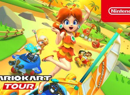 Mario Kart Tour: pubblicato il trailer dedicato al Tour estivo, ora disponibile