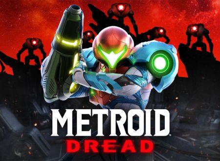Metroid Dread: svelata la boxart europea del titolo in arrivo su Nintendo Switch