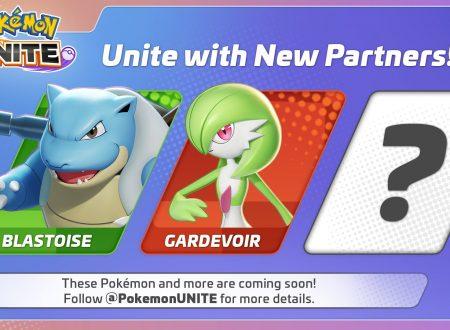 Pokémon UNITE: svelato il roster completo dei Pokèmon disponibili al lancio del titolo su Nintendo Switch