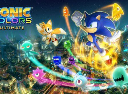 Sonic Colors: Ultimate, pubblicati i primi video gameplay della remastered