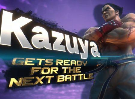 Super Smash Bros. Ultimate: Kazuya Mishima di Tekken sarà il prossimo personaggio DLC