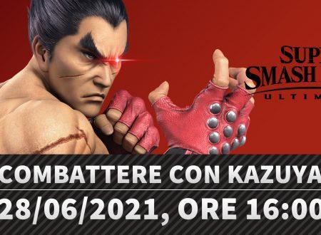 Super Smash Bros. Ultimate: la presentazione con Sakurai sul come combattere con Kazuya è in arrivo il 28 giugno