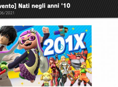 Super Smash Bros. Ultimate: svelato l'arrivo del torneo: Nati negli anni '10