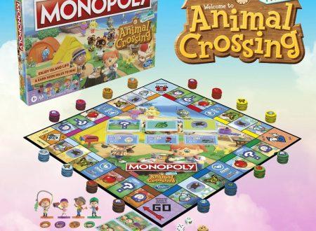 Animal Crossing: New Horizons, Hasbro rivela un Monopoly basato sul titolo