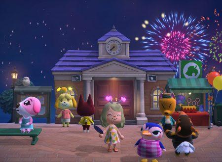 Animal Crossing: New Horizons, un nuovo update è in arrivo il 29 luglio su Nintendo Switch