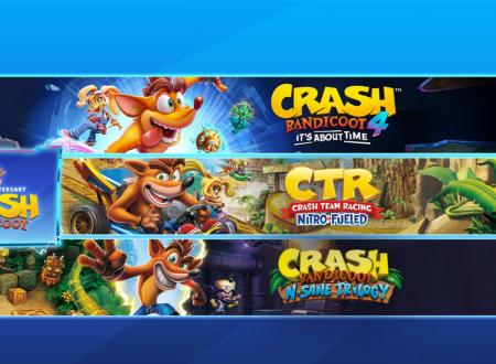Crash Bandicoot Bundle Crashiversario e Quadrilogia ora disponibili sui Nintendo Switch europei